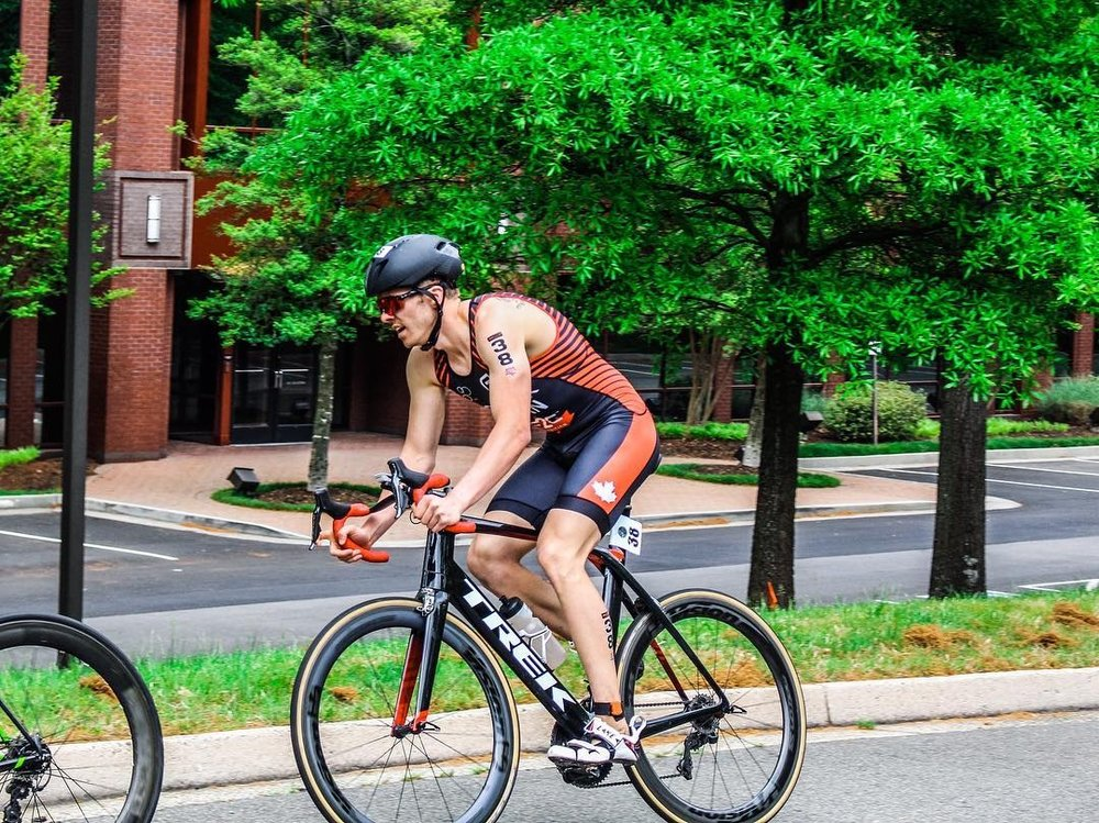 Eric Dokter Professional Triathlete Richmond Virginia ITU CAMTRI race