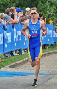 Eric  Dokter T1 Triathlon athlete