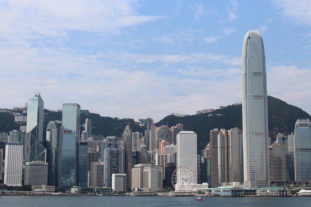 Hong Kong on a triathlon trip