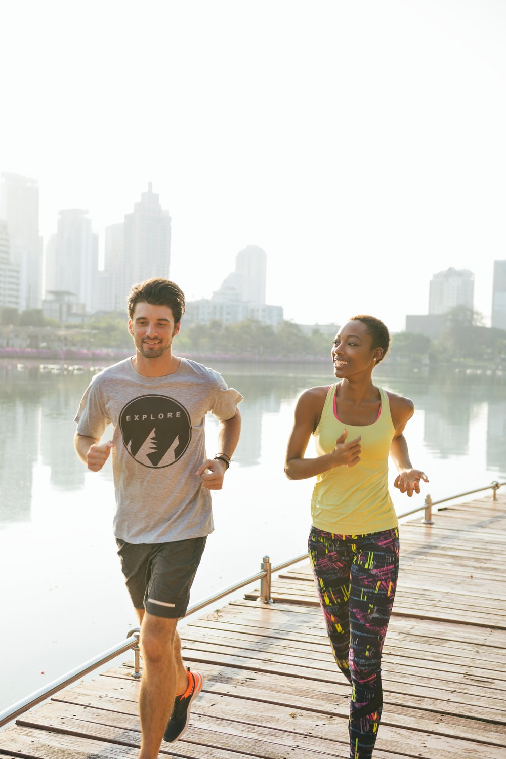 Go for a run during your lunch break if you have a busy schedule