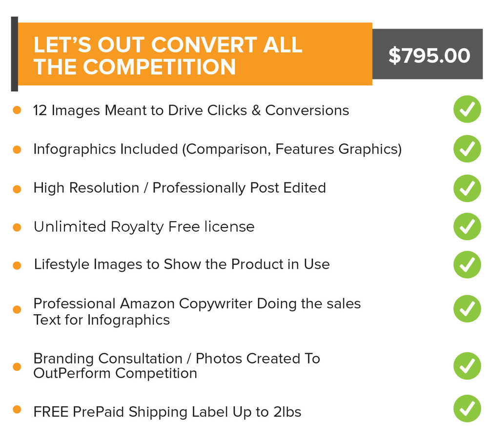Let's Out Convert All the Competition - Sale Price: $645.00Any questions? Schedule a call with us now!