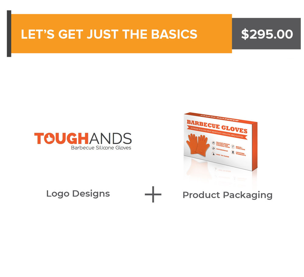 Logo Designs + Product Packaging - $295.00Any questions? Schedule a call with us now!