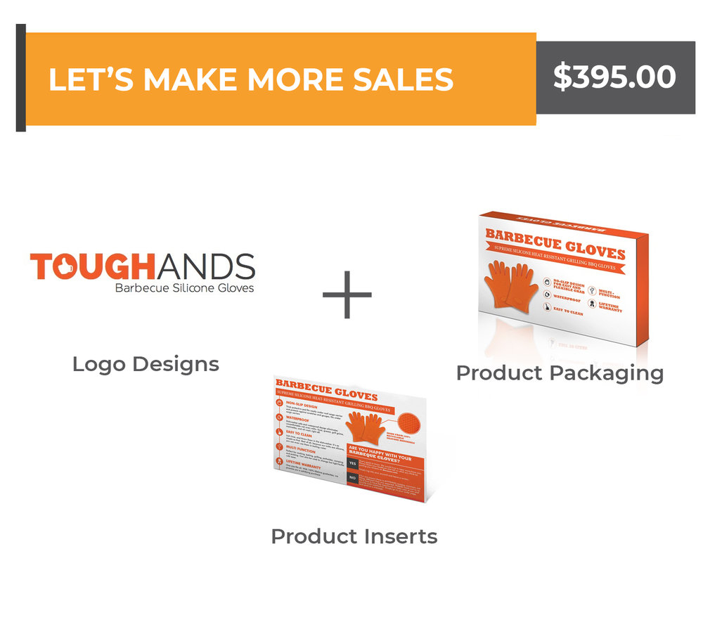 Logo + Packaging + Product Insert - $395.00Any questions? Schedule a call with us now!