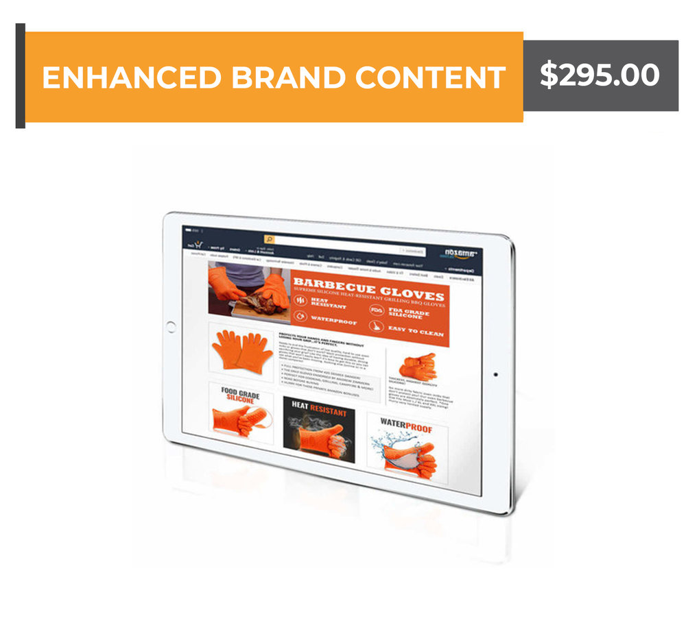 Enhanced Brand Content - $295.00(Copywriting and Graphics Creation Included)Any questions? Schedule a call with us now!