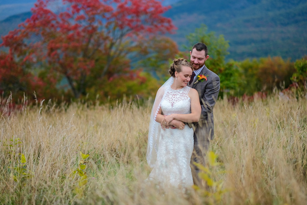 Fall Wedding Photography in Franconia NH in the White Mountains at the very lovely Toad Hill Farm.