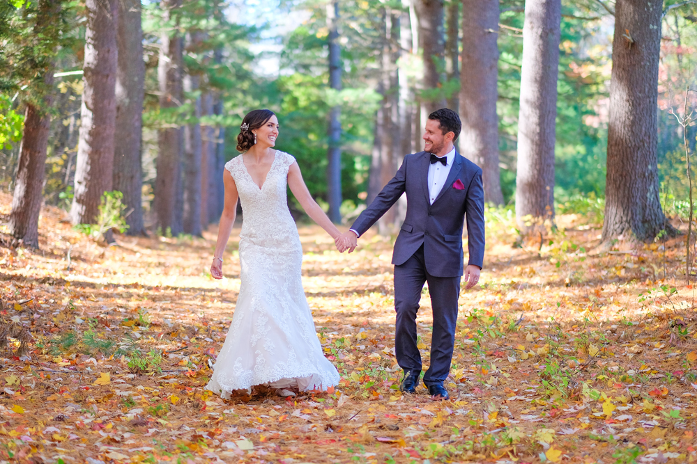 Candid Wedding Photography at the Devens Common Center in Devens MA.