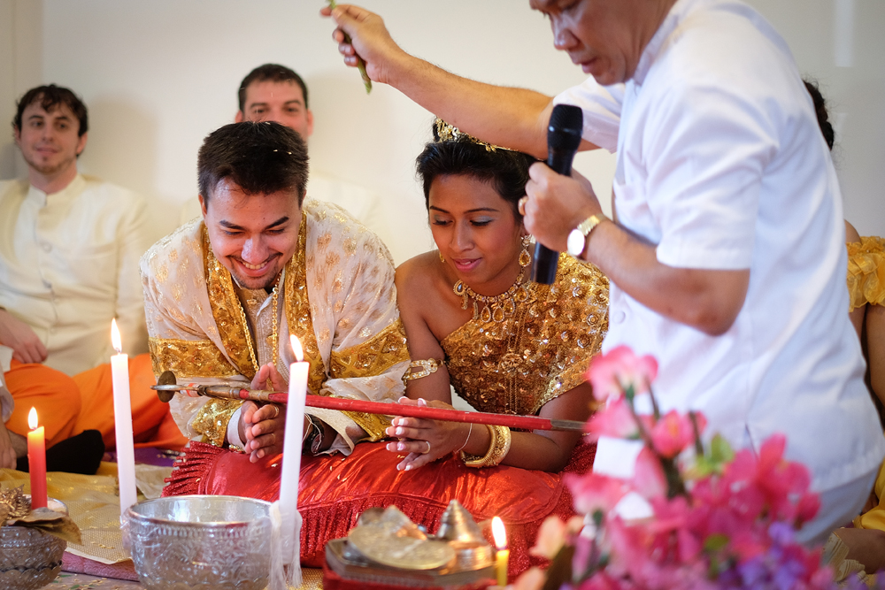 Buddhist wedding photography