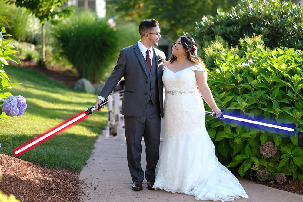 Star Wars Wedding.Wedding Photography At Castleton In Windham Nh Star Wars