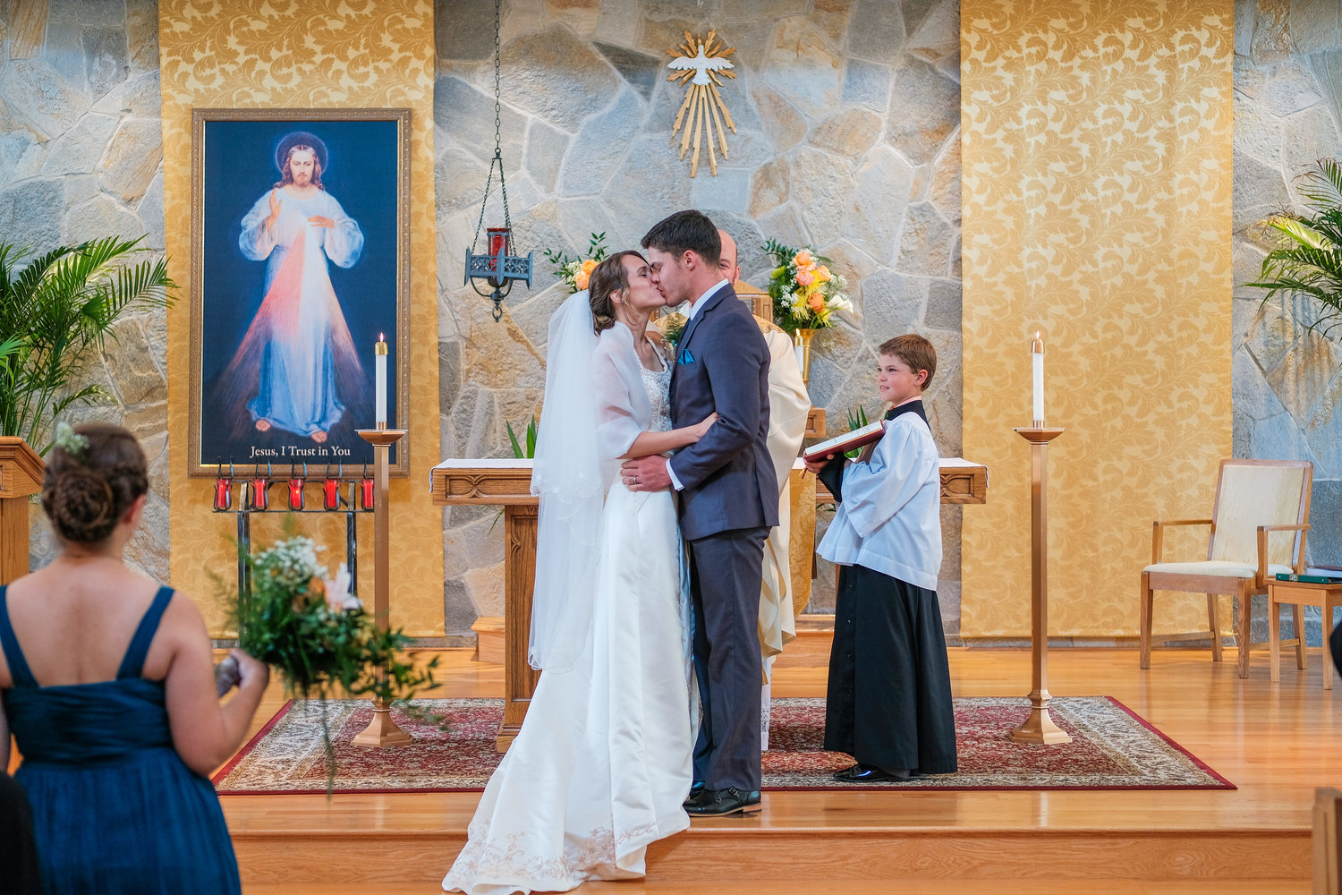 Catholic Wedding Traditions.Traditional Catholic Wedding In Southern Nh With Maria And