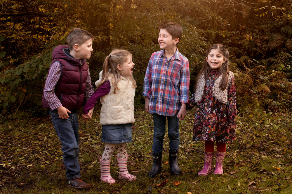 family - photography - glasgow - children - laughing