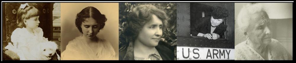 Helen Keller Timeline Banner