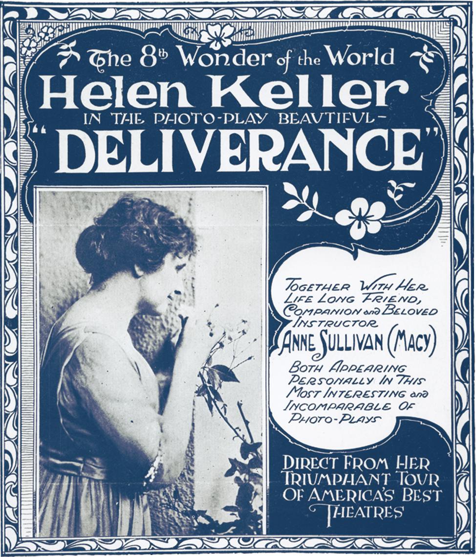 Helen Keller Deliverance Poster