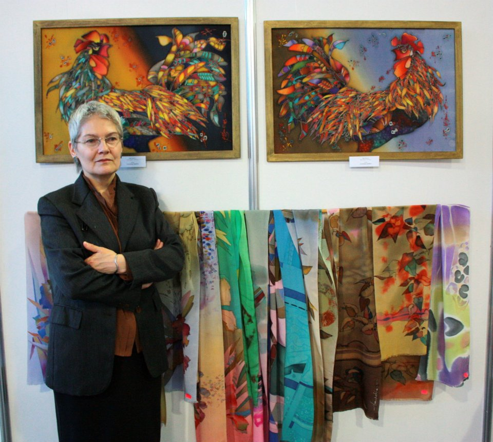 Olga Drobaha and her work