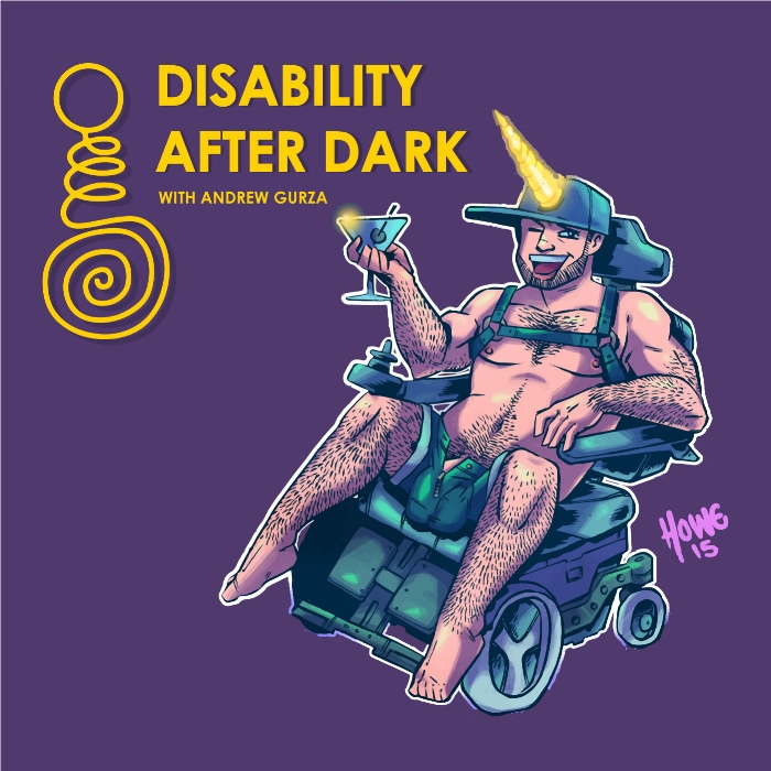 Disability After Dark Podcast Art