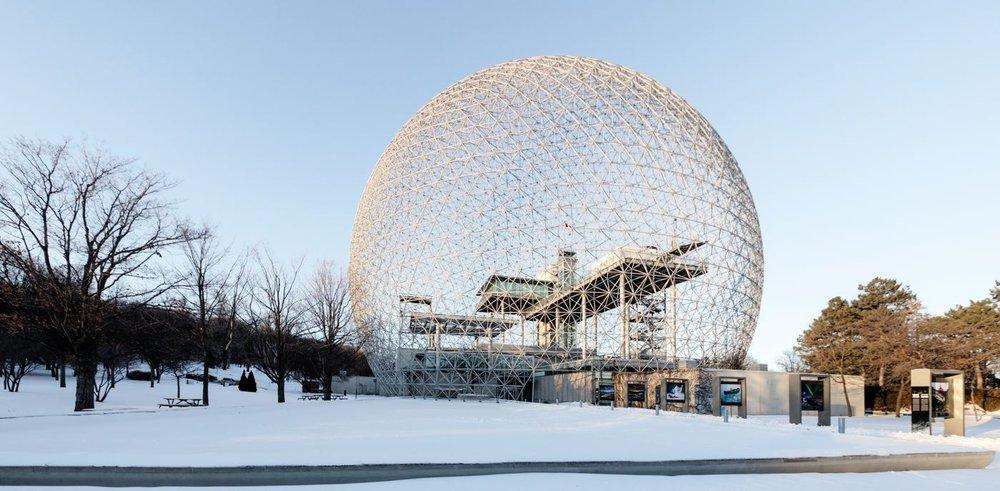 Biosphère - Montréal<strong>- entrez -</strong>
