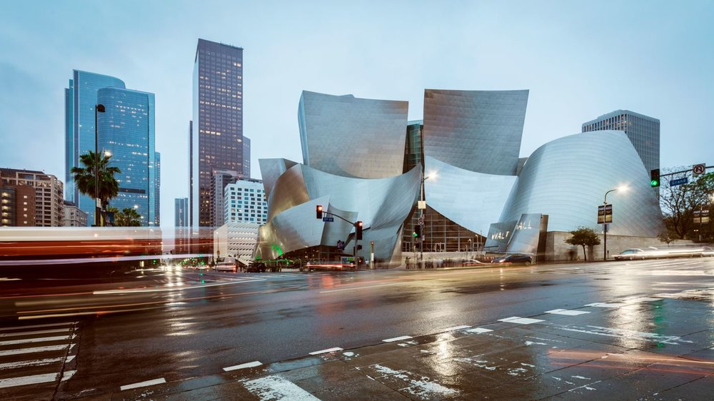 Walt Disney Concert Hall - Los Angeles<strong>- entrez -</strong>