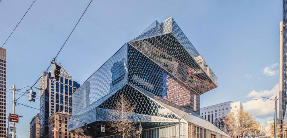 Seattle Central Library - Seattle<strong>- entrez -</strong>