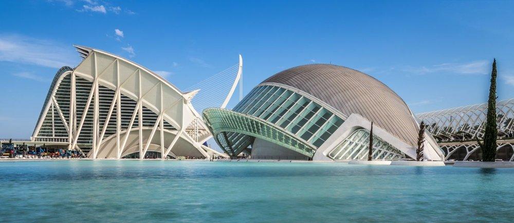 Ciudad de las Artes y las Ciencias - Bâle <strong>- entrez -</strong>