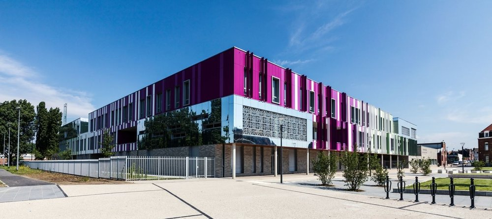 Collège Desrousseaux<strong>- entrez -</strong>