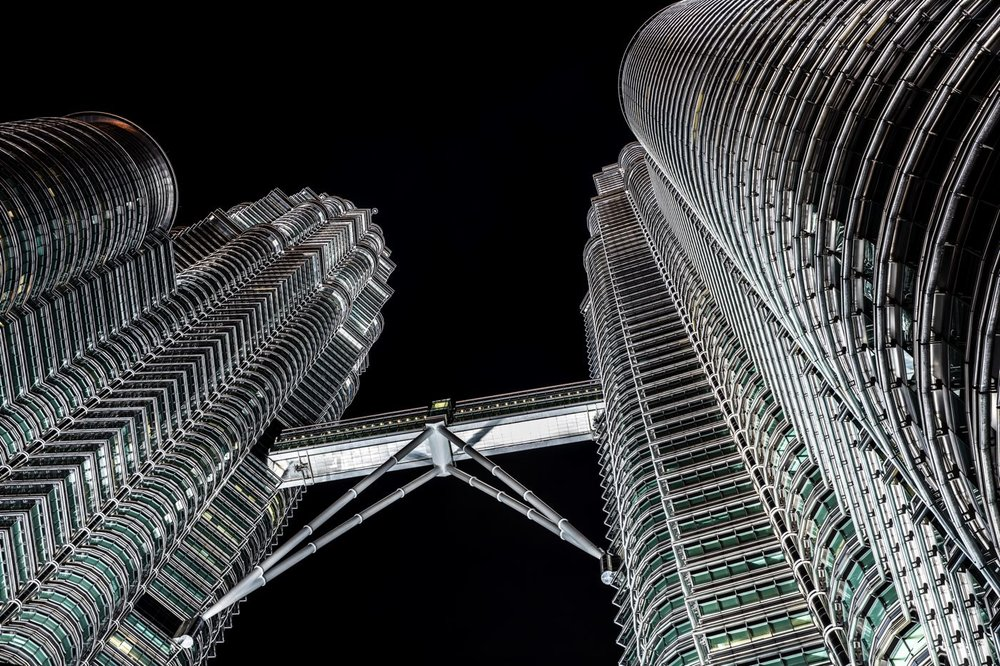 Petronas towers - Kuala Lumpur<strong>- entrez -</strong>