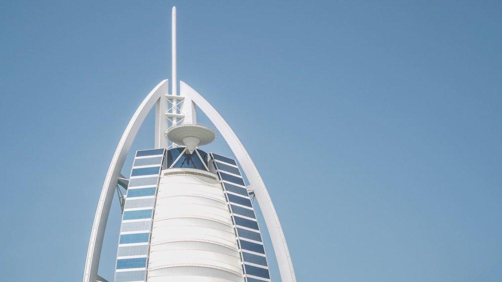 Burj Al Arab - Dubaï<strong>- entrez -</strong>