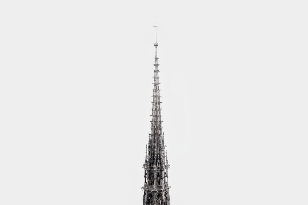 LDKphoto-Fleche de la cathédrale Notre Dame de Paris-2.jpg
