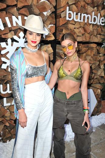 Kendall Jenner + Hailey Baldwin