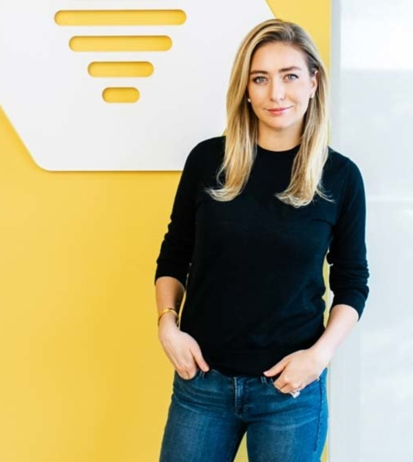 Whitney Wolfe, Bumble's founder and CEO