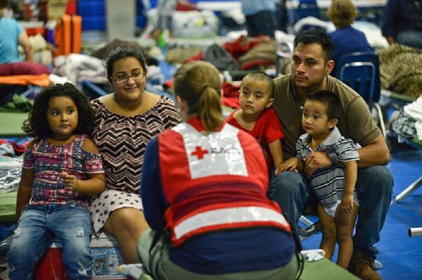 Photo: Daniel Cima for The American Red Cross