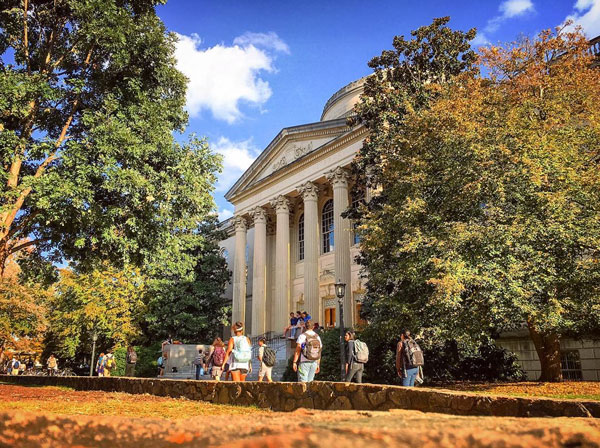 Photo: Courtesy of  @uncchapelhill