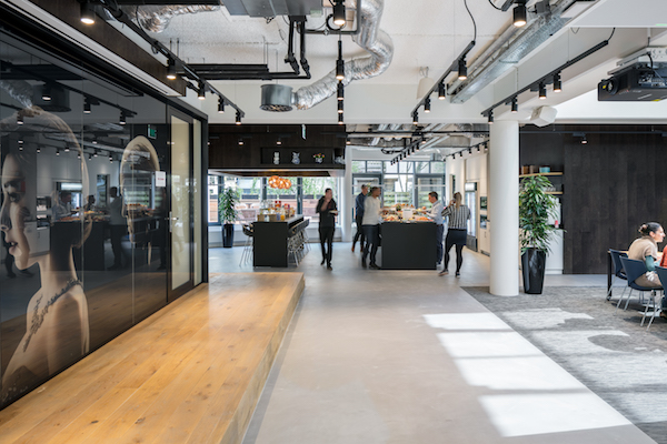 Inside Netflix's Amsterdam Office.