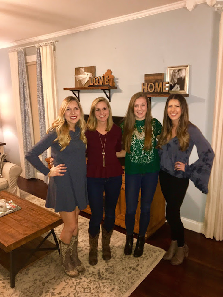 Kelsey, Brooke, McKenzie and Lauren