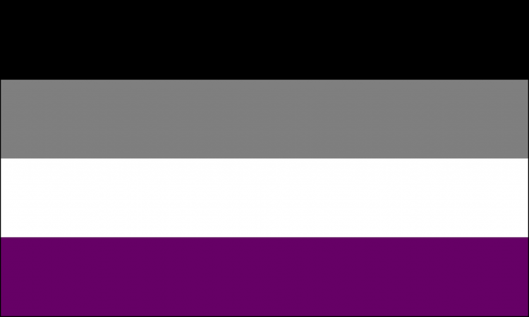 The Asexuality flag.