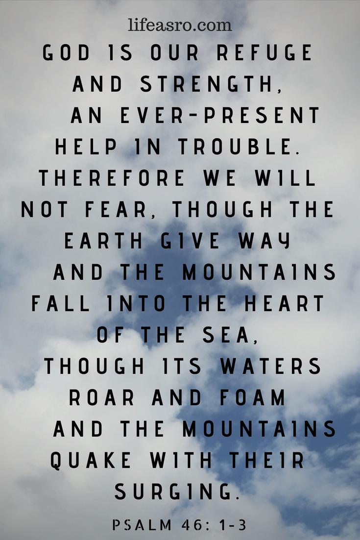 Psalm 46 1-3