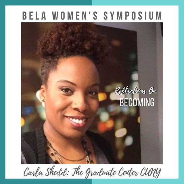 We are 4 DAYS away from #WS2019 Reflections on Becoming! Check out one of our incredible panelists Dr. Carla Shedd 📚👩🏾🏫 . . CARLA SHEDD, Ph.D. is Associate Professor of Sociology & Urban Education at The Graduate Center, CUNY whose research and teaching focuses on education; criminalization; race and ethnicity; law; social inequality; and urban policy. Shedd's first book, Unequal City: Race, Schools, and Perceptions of Injustice (Russell Sage, 2015), is the winner of the prestigious C. Wright Mills Award. Shedd's second book in-progress, When Protection and Punishment Collide: America's Juvenile Court System and the Carceral Continuum, examines the overlapping contexts of schools, neighborhoods, and courts in NYC.