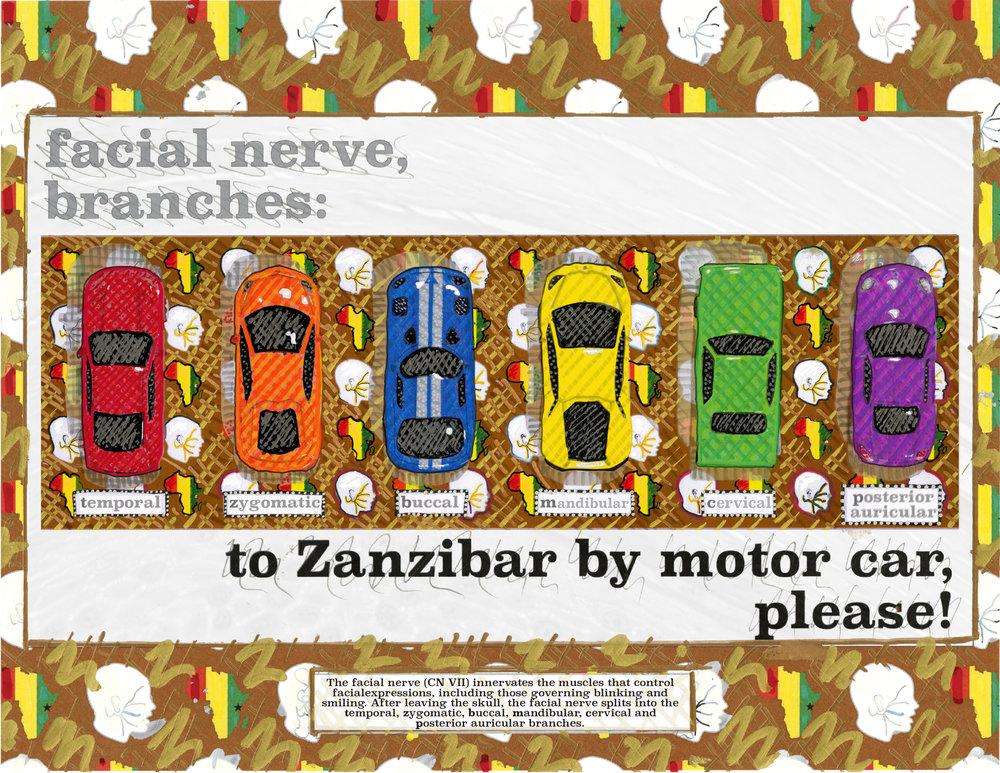 to zanzibar by motorcar please