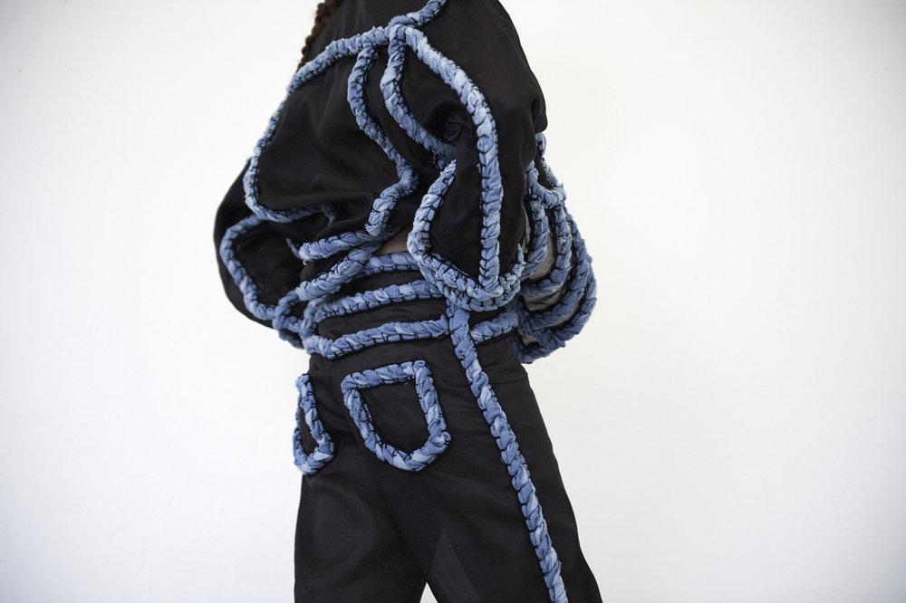 a / w 2017 bobbin lace -