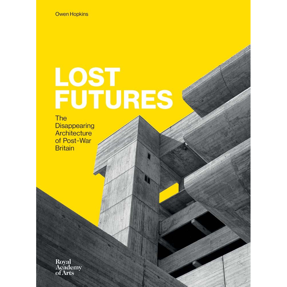 Lost Futures   Published in January 2017, my latest book is  Lost Futures  – an exploration of  35 post-war British buildings that have been demolished or heavily altered, and the values and ideologies that shaped both their creation and eventual destruction.