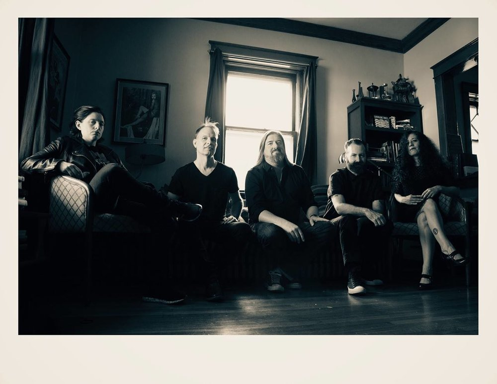 L - R : Meredith McGrade, Alex Alexander, Jonathan Knecht, Krysztof Nemeth, Kristin Conkright.  Photo by Shaun Hamontree 2018