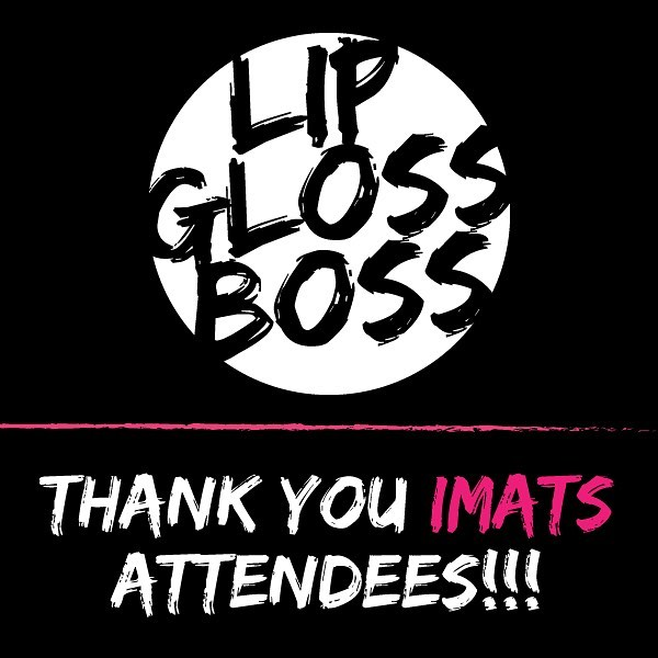 Thank you so much @imatsofficial for having us for our very first trade show! What an amazing experience. Thank you to all of those who came by our booth and tried our glosses, we loved meeting you all. We had a fantastic time and can't wait to hear from all of the attendees! • #imatslosangeles #imats2019 #lipglossboss #makeupshow #makeupartist #mua #sfxmakeup #battleofthebrushes #imats #imatsla