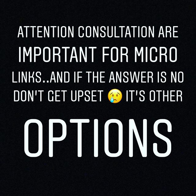 I am very honest to point stylist if your hair is approved for links yes I will proceed appointment but if not sorry I can work with damaged hair or over processed hair as well ... respect my suggestions ... healthy hair is my goal period #braidlesssewin #microlinks #healthyhairtips #healthyhair #hairextensions #hairgoals #respecttheprocess #atlantahairstylist