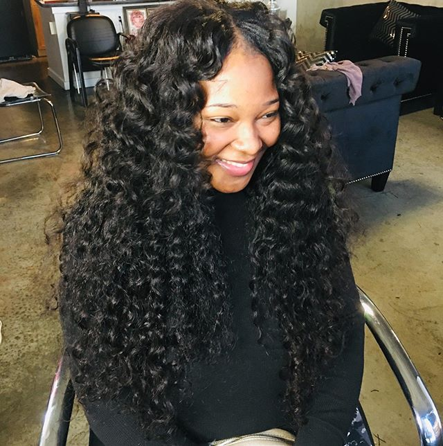 Book now 20,22,24,26 full sewin natural part #microlinks #braidlesssewin #naturalhairstyles #curlyhair #haircolorist #atlhairstylist