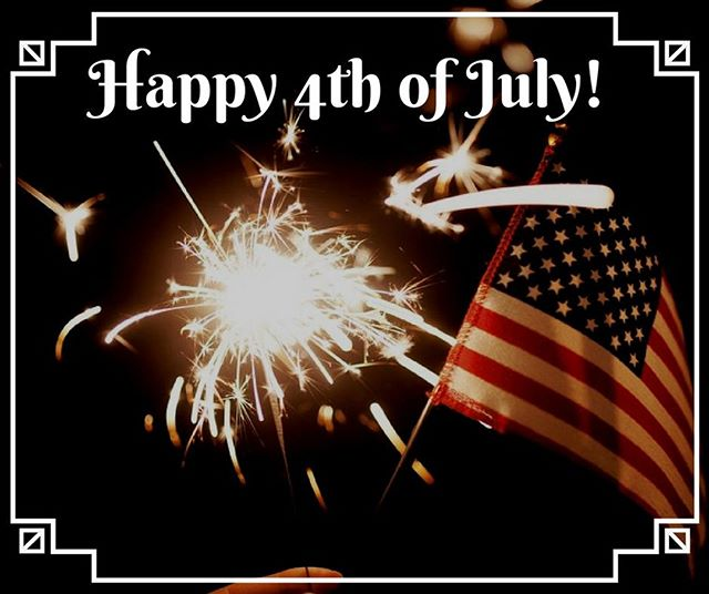 We would like to wish everyone a Safe and Happy 4th of July! We are open today so get in a little shopping before going to see the fireworks.