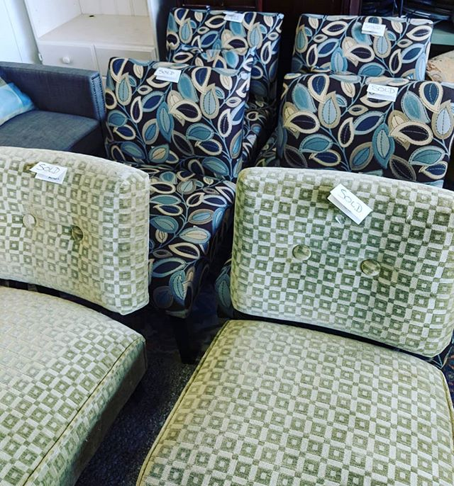 When one customer stops by and buys all of these chairs! 🤯 Remember we are constantly restocking so stop in often so you don't miss great items like this!  #shoplocalraleigh #raleigh #thriftstorefinds #raleighlocal #wakeforestnc #knightdalenc