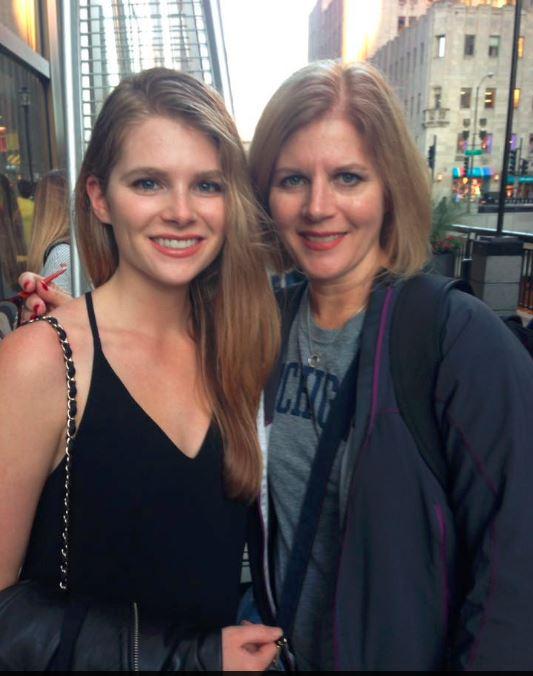 Mom & I. I hear we look alike...