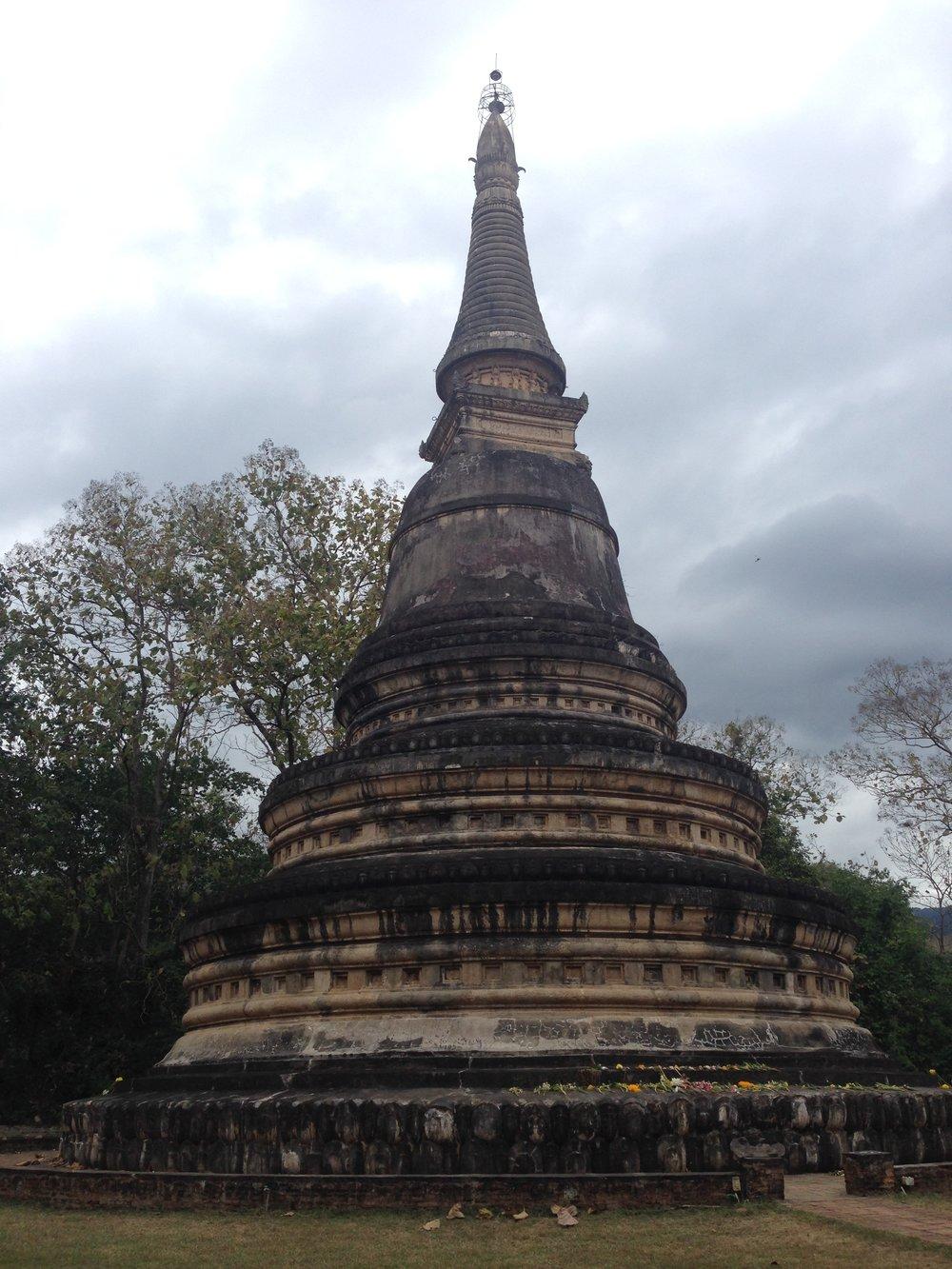 Wat Umong, Su Thep, Thailand
