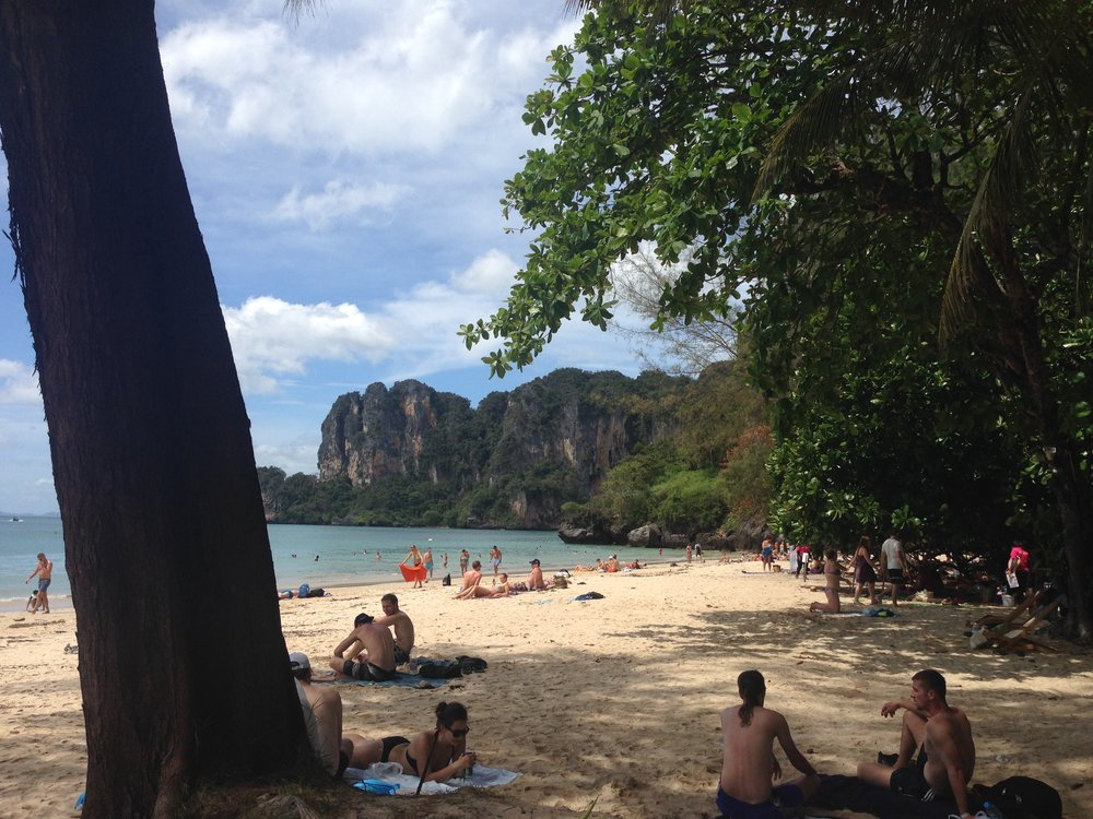 Railay Beach, Ao Nang, Thailand