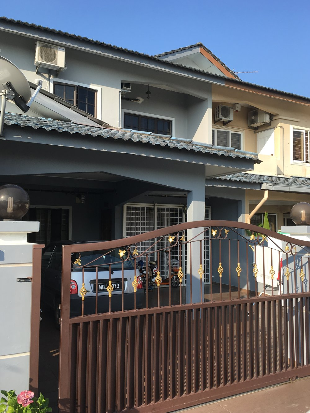 Os and Hoz's home, Melaka
