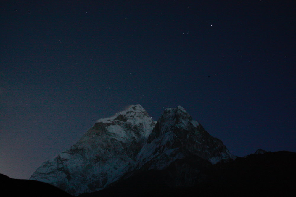 Mount Amadablum as seen from Dingboche, Nepal