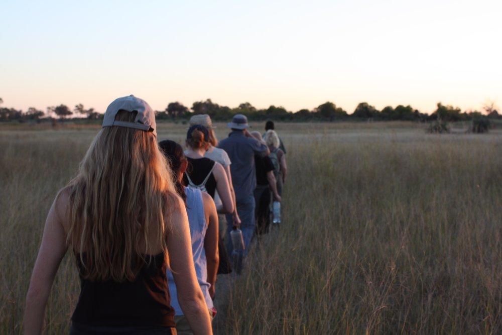 Traversing the Delta at dusk